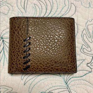 NEW Men's Coach baseball stitch wallet